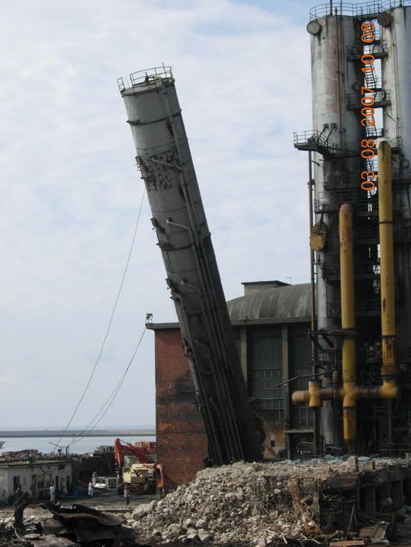 Smantellamento e demolizione area sottoprodotti (SOT)