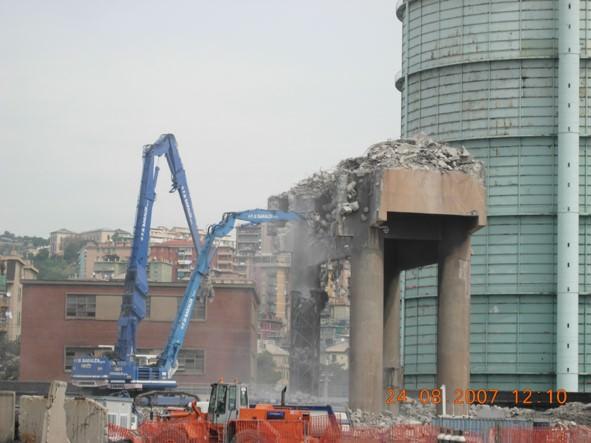 Smantellamento e demolizione area vagliatura (A1)