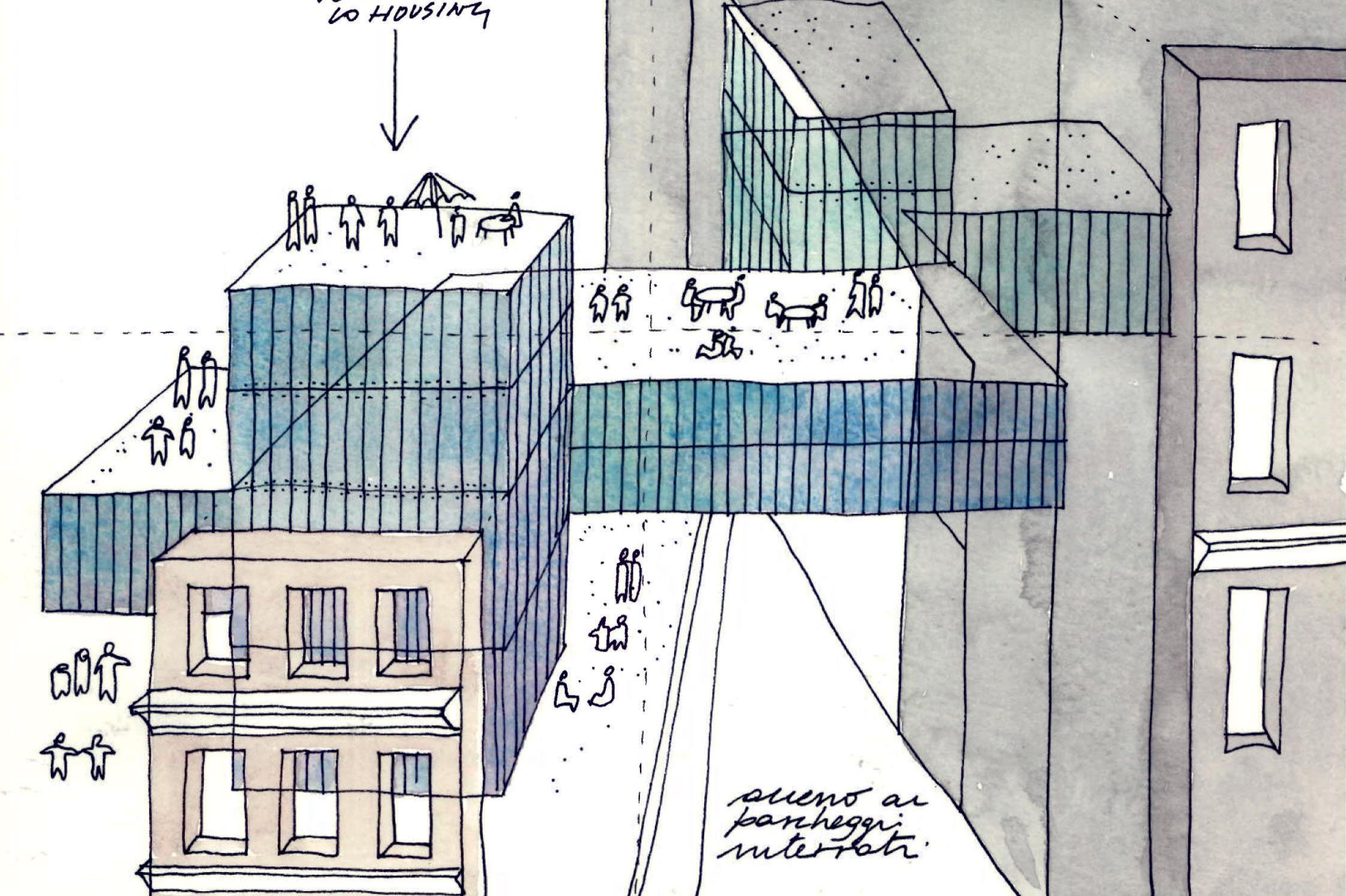 Valorizzazione complesso architettonico Via Bertani 1, Genova: student accomodation