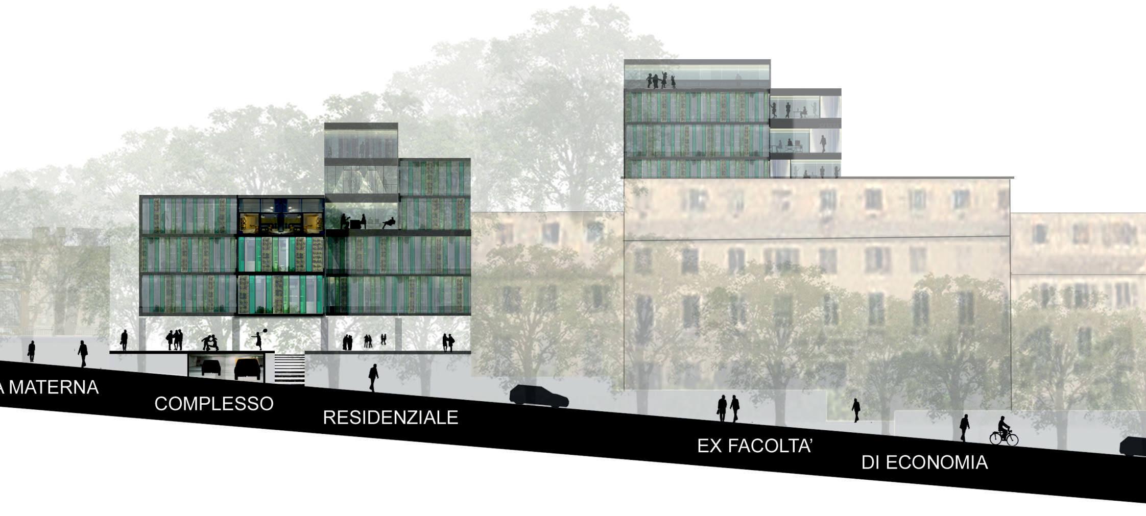 Valorizzazione complesso architettonico Via Bertani 1, Genova