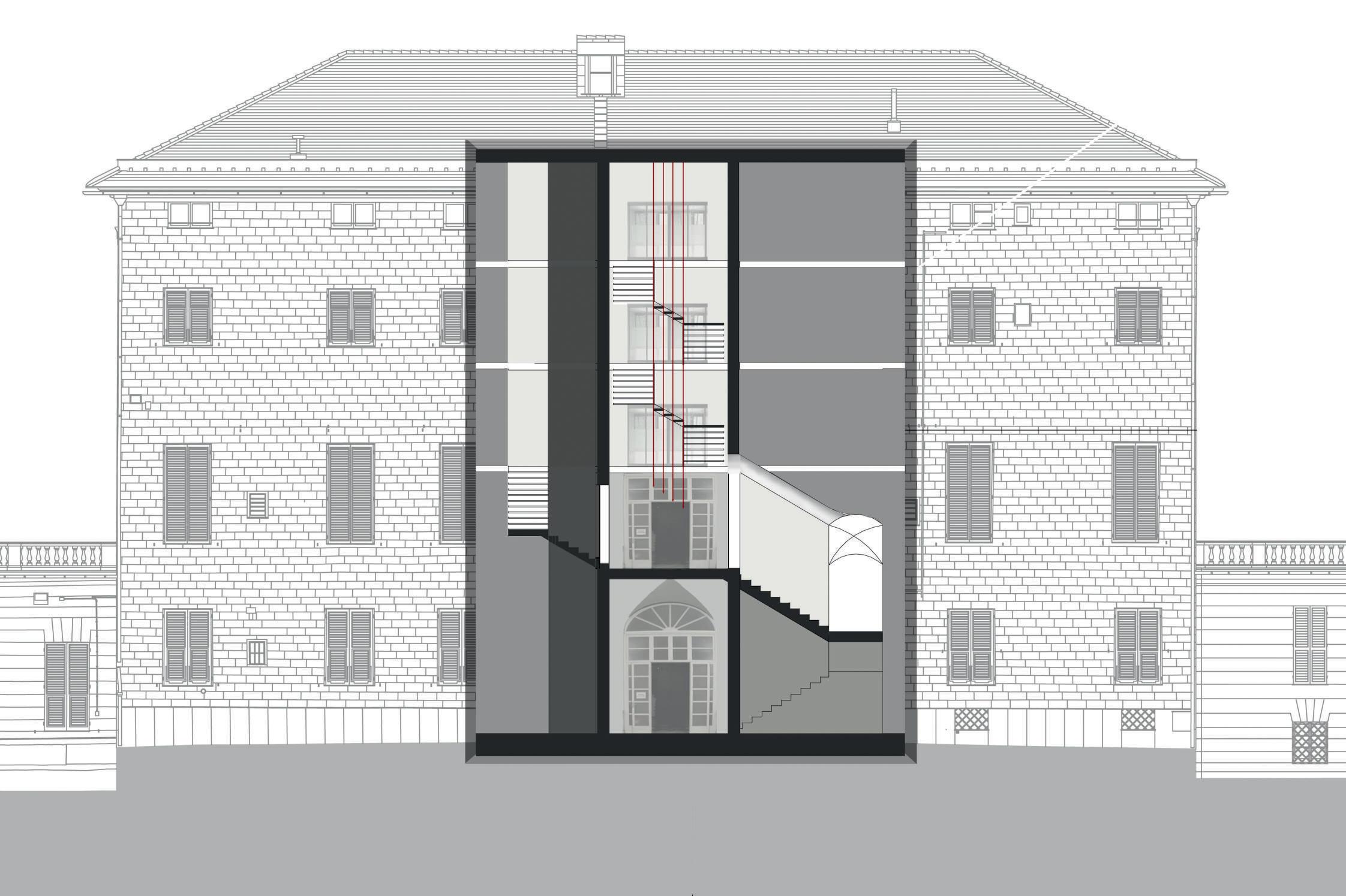 Conversione di Villa Serra in struttura direzionale, Cornigliano – Genova