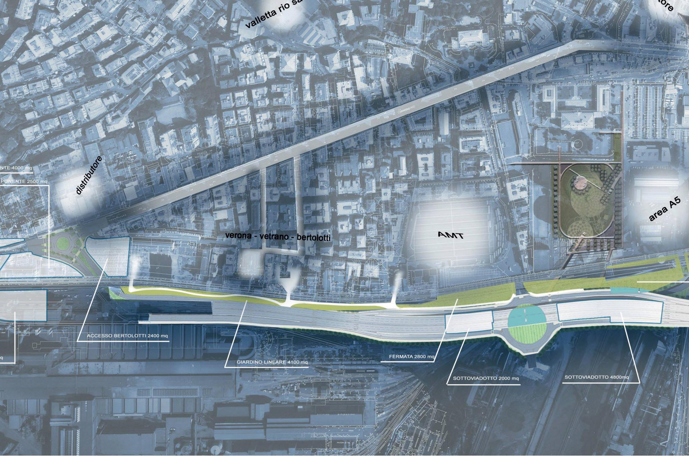 Strategie di sviluppo per Cornigliano: masterplan preliminare
