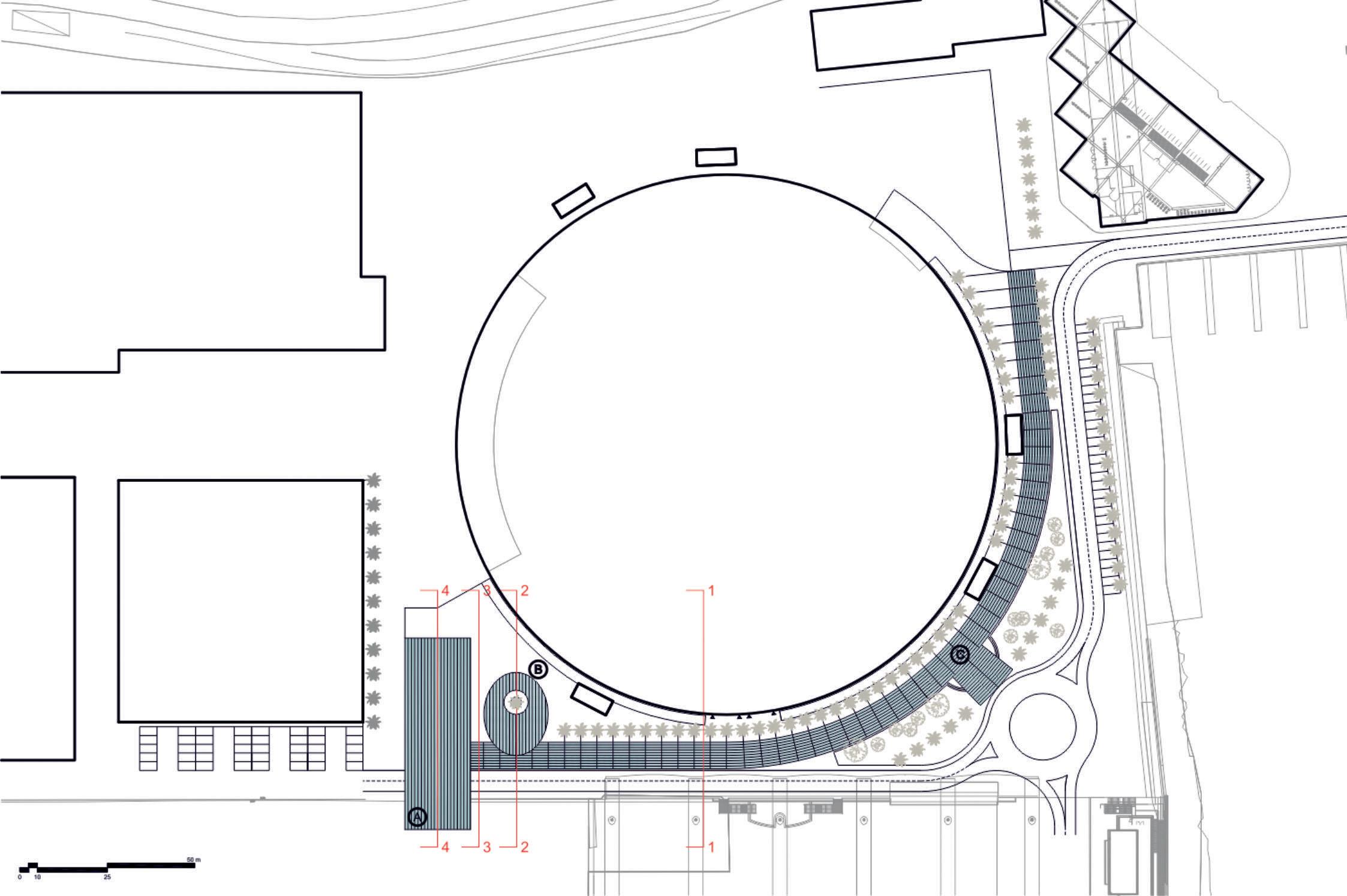 Nuovo accesso alla Fiera di Genova: masterplan preliminare