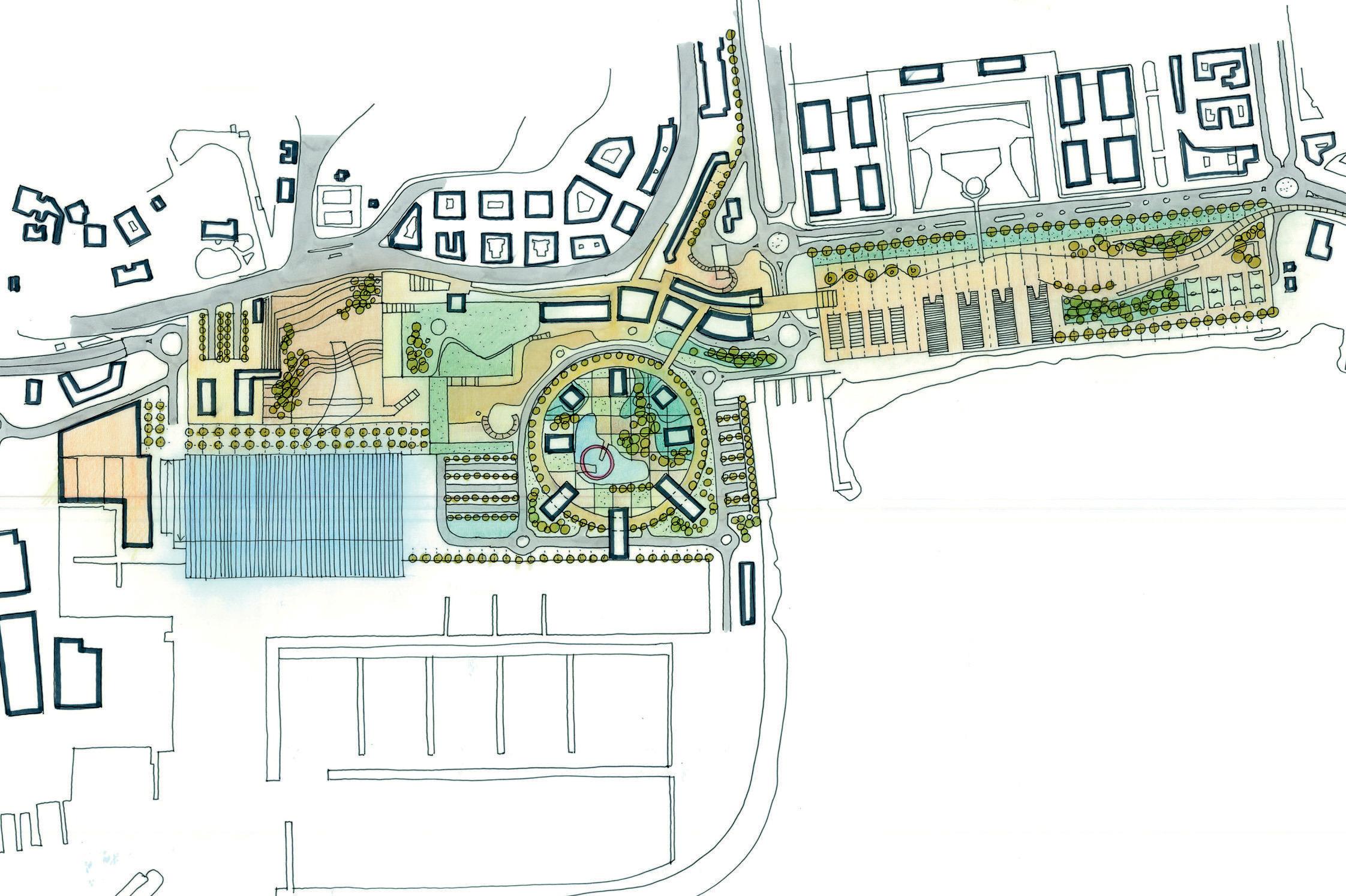 Riconversione Fiera di Genova: masterplan preliminare
