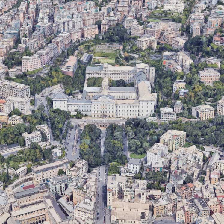 Restauro e rigenerazione dell'Albergo dei poveri di Genova